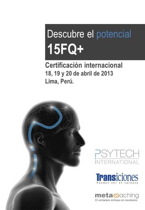 certificación 15fq pe